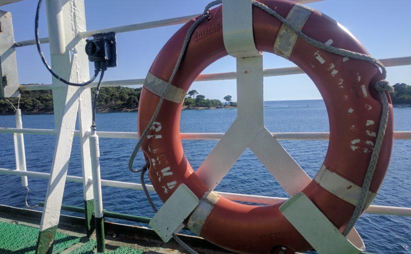 2. August 2017, Insel Olib